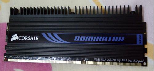 memória corsair dominator - 4gb - ddr3 - 1600mhz