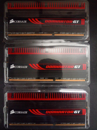 memoria corsair dominator-gt ddr3 6gb (3x2) 2000mhz