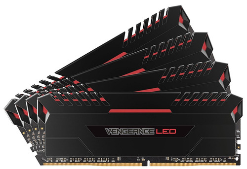 memoria corsair vengeance led 32gb (4x8gb) ddr4 3200