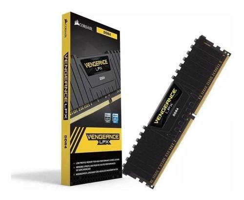 memória corsair vengeance lpx 8gb 2666mhz ddr4 c16 desktop
