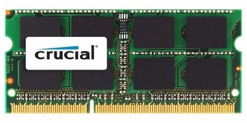 memoria crucial 4gb ddr3l-1600 sodimm compatible mac book