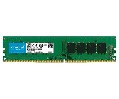 memoria crucial 8gb (1x8) 2400mhz ddr4, ct8g4dfs824a