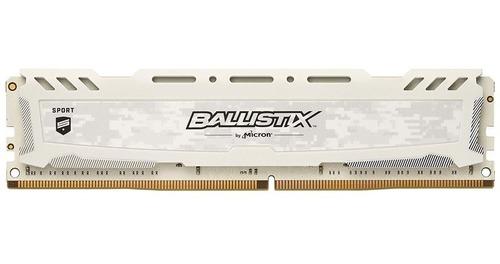 memoria crucial ballistix sport lt ddr4 8gb 3000 mhz box