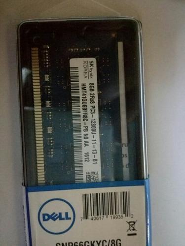 memoria ddr 3 8 gb pc . 12800 nueva cerrada