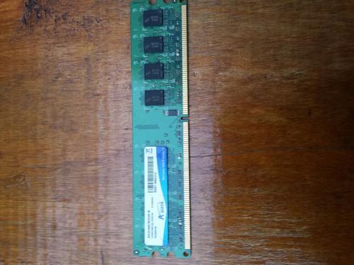memoria ddr2 2gb 667 mhz marca adata de pc de escritorio