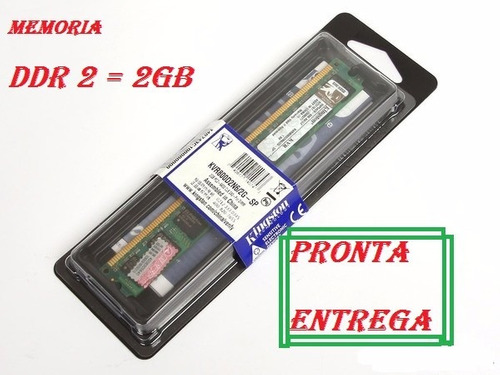 memória ddr2 2gb