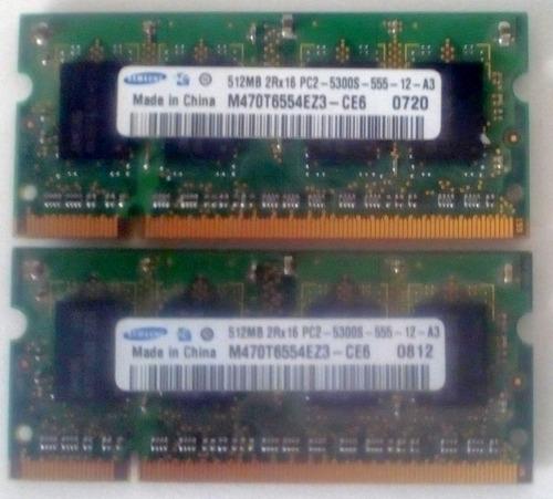 memoria ddr2 512
