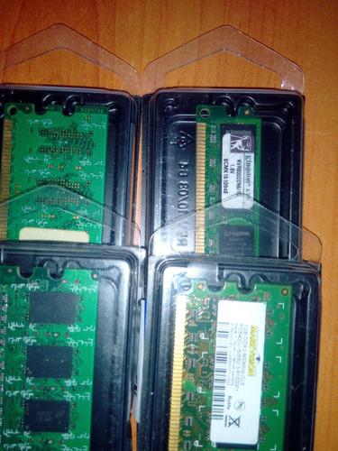 memoria ddr2/ddr3 1-2 gb. 530 - 800.- 1600mhz consultame!!