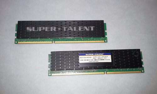 memoria ddr3 2 gb para pc super talent c/ disipador de calor