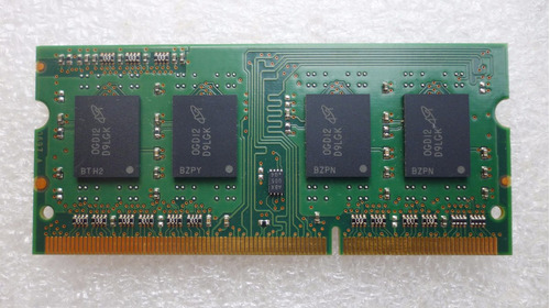 memória ddr3 2gb m notebook macbook 1rx8 pc3-10600s-9-10-b1