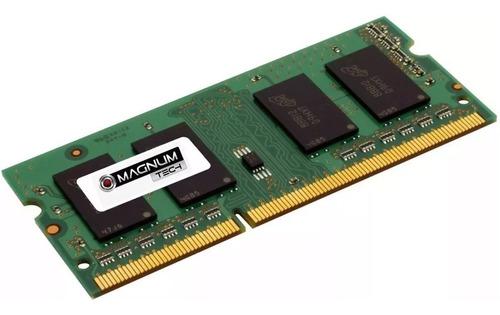 memoria ddr3 4gb 1600mhz 1.5v notebook sodimm magnun tech