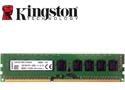 memoria ddr3 8gb kingston pc3 12800 1600 1300 mhz kvr16n11/8