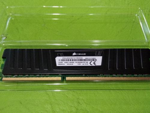 memoria ddr3 corsair 8gb 1600 mhz vengeance lp