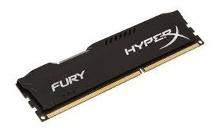 memória ddr3 kingston hyperx fury hx316c10fb/8 8gb 1600mhz