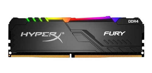 memoria ddr4 8 gb kingston fury rgb- hx426c16fb3a8  2666 mhz