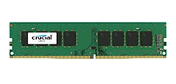 memoria ddr4 8gb 2400 crucial box - tecsys