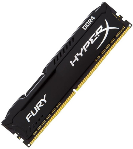 memoria ddr4 8gb 2400mhz kingston hyperx fury black