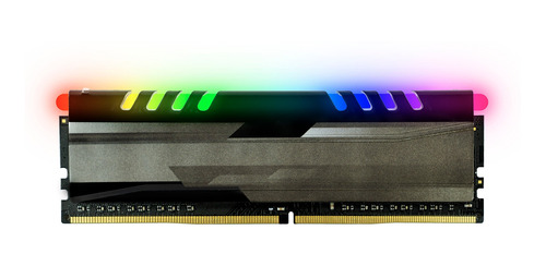 memória ddr4 8gb 2666mhz com led rgb warrior multilaser