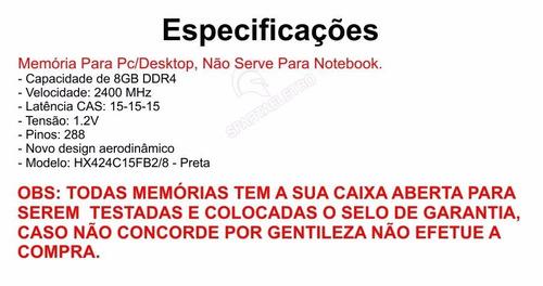 memoria ddr4 8gb