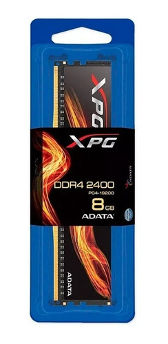 memoria ddr4 8gb adata xpg flame 2400 pc4-19200 disipador