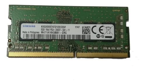memoria ddr4 8gb pc4-19200 2400mhz 260pin laptop