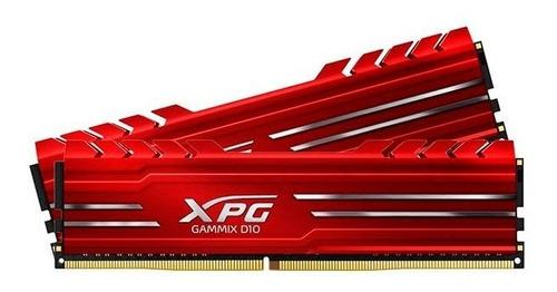 memoria ddr4 adata xpg gammix d10 8gb 3000 mhz red ax4u30003
