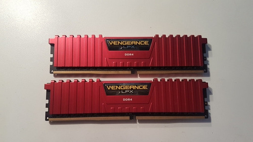 memoria ddr4 dois 4gb (8gb) 3200mhz corsair vengeance