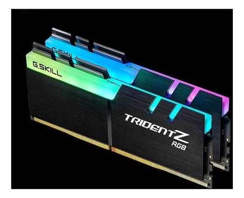 memória ddr4 g.skill trident z 8gb 3200mhz (1x8) rgb amd