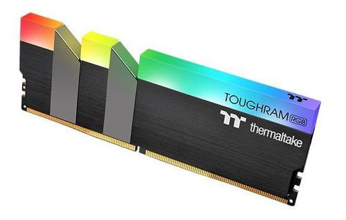 memoria ddr4 thermaltake toughram 16gb 3200mhz rgb 1