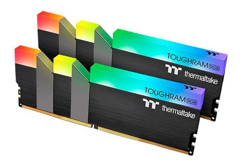 memoria ddr4 thermaltake toughram 16gb 3600mhz rgb 2