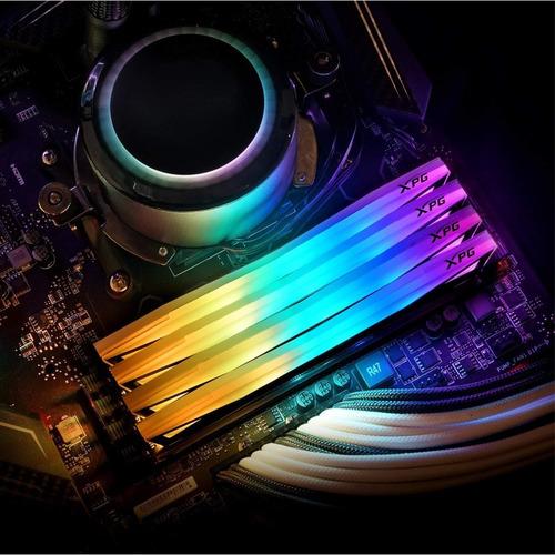 memória ddr4 xpg spectrix d60g rgb, 16gb (2x8gb) 3600mhz