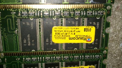 memoria ddr400 1gb kingston e itautec