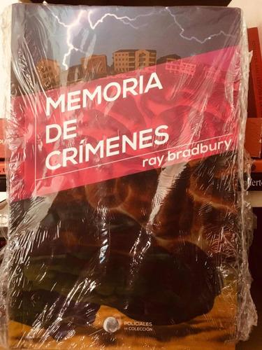 memoria de crímenes - ray bradbury - policiales de colecc