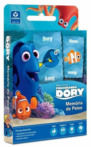 memória de peixe - procurando dory - jogo de cartas - novo