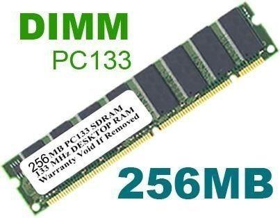 memoria dim 256mb pc100/133mhz usada. envio td.brasil