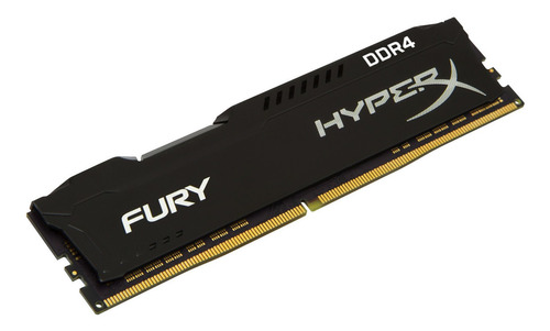 memoria dimm ddr4 8gb 2400mhz hyperx fury local al publico
