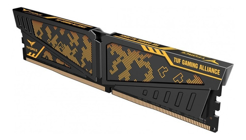 memoria dimm t-force ddr4 2 x 8gb 3600mhz (16g) vulcan gamer