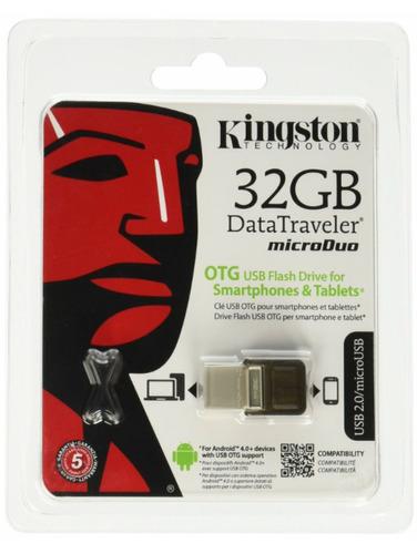 memoria dual usb android 32 gb click506