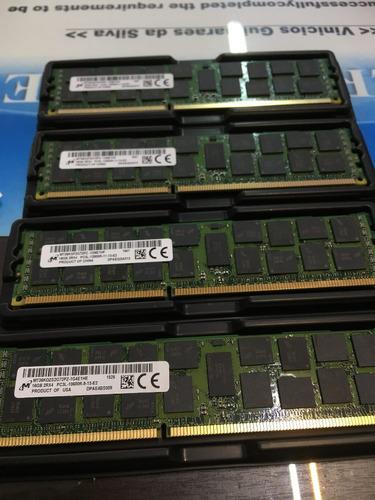 memória ecc 16gb pc3l-12800r hp proliant dl360 dl580 g7 g8
