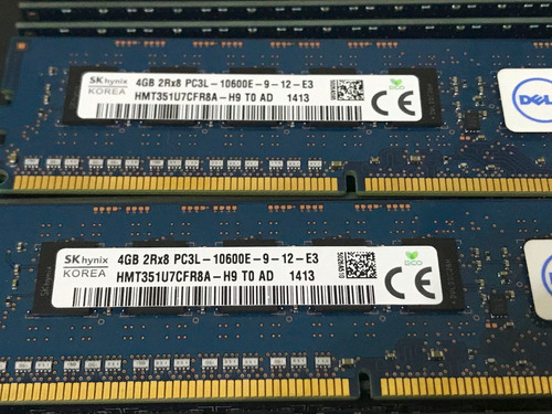 memoria ecc 4gb pc3-10600e 1333mhz udimm dell poweredge t110