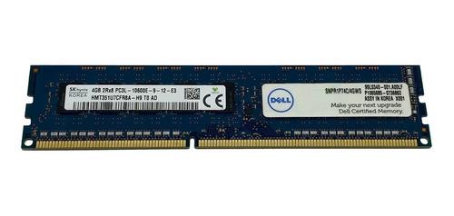 memoria ecc 4gb pc3-10600e udimm dell poweredge r310 / t310