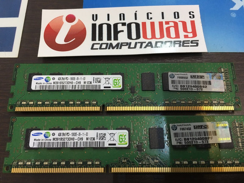 memoria ecc 4gb pc3-10600e udimm hp 500209-561 500210-572