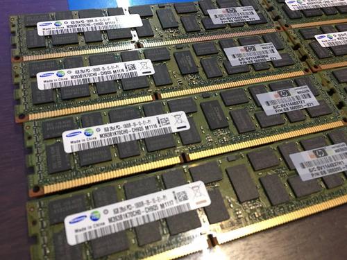 memória ecc 8gb pc3-10600r hp bl465c bl620c bl680c bl685c g7