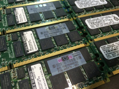 memoria ecc servidor rdimm 2gb pc2-5300p 405476-051 kingston