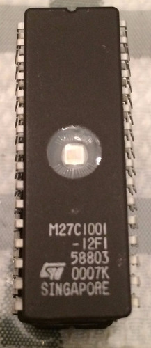 memoria eprom m27c1001-12f1