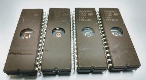 memória eprom m27c1001 (kit 4 pc ci)
