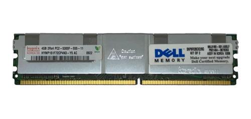 memoria fb-dimm 4gb pc2-5300f dell poweredge 1900 1950 1955