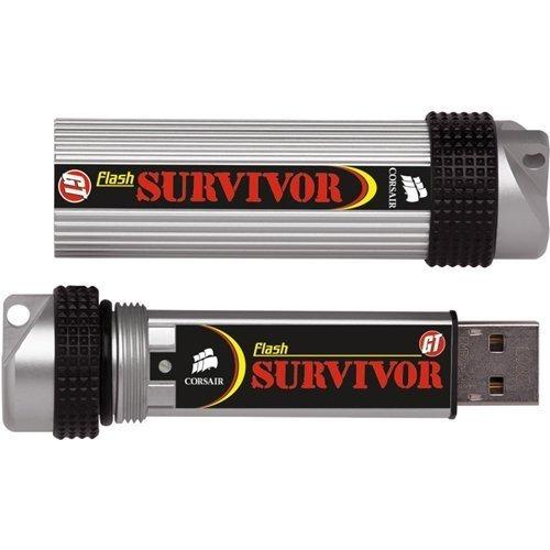 memoria flash drive corsair survivor gtr 64 mb unica en mex