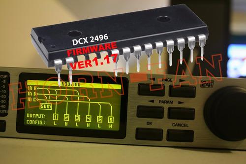 memória flash eeprom ( dcx2496 versão 2 ) behringer v1.18a