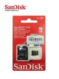 memoria flash microsdhc sandisk class4, 32gb